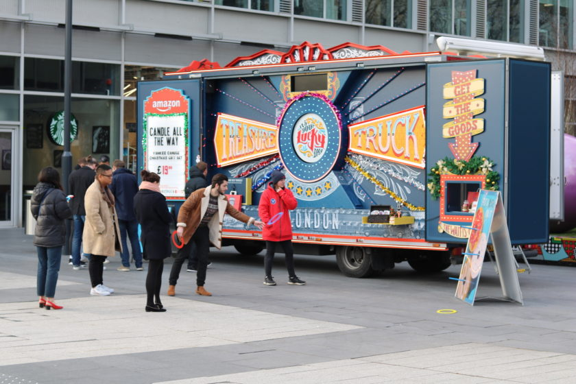 Amazon Treasure Truck Pulls in to White City Place