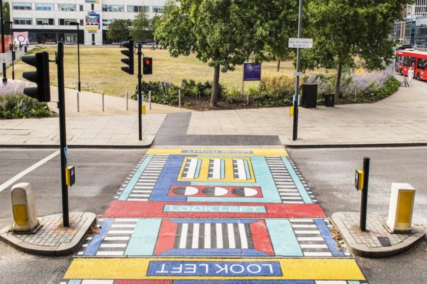 Camille Walala's First Outdoor Artwork in West London