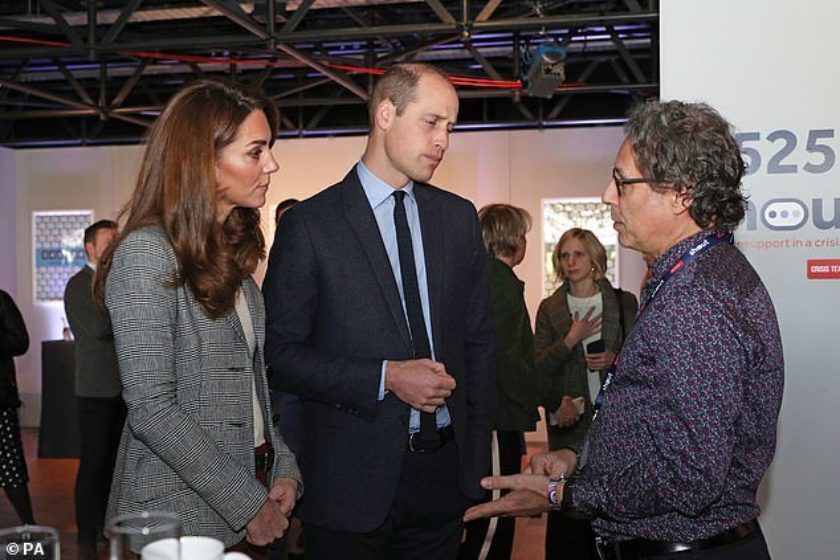 Royal visit to White City Place