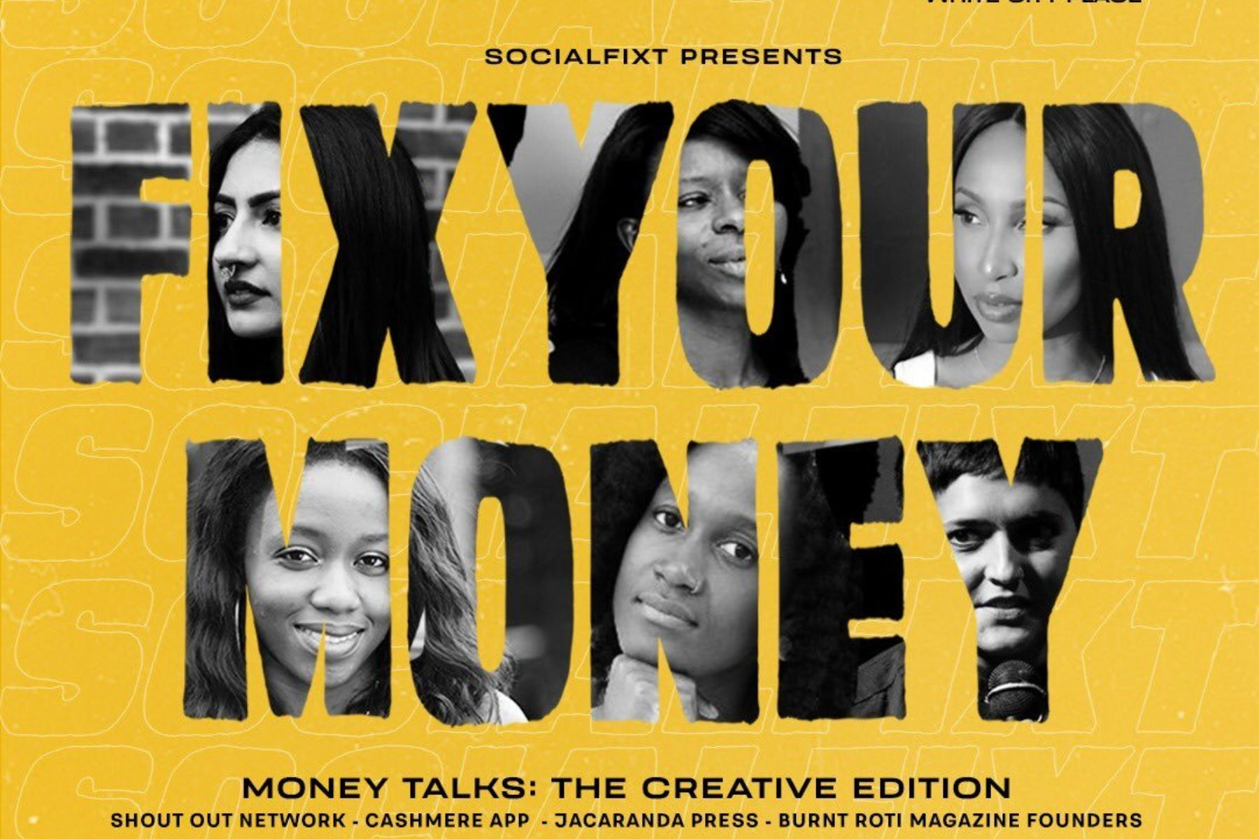 SocialFixt presents FIX YOUR MONEY