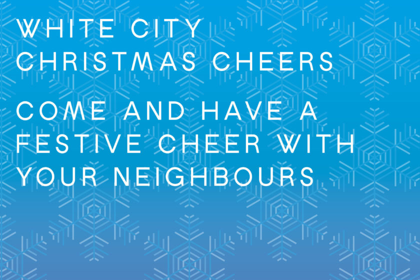 White City Place Christmas Cheers