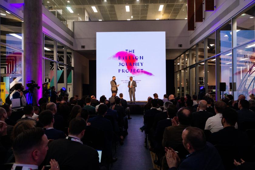 White City Place hosts the Billion Journey Project Demo Day