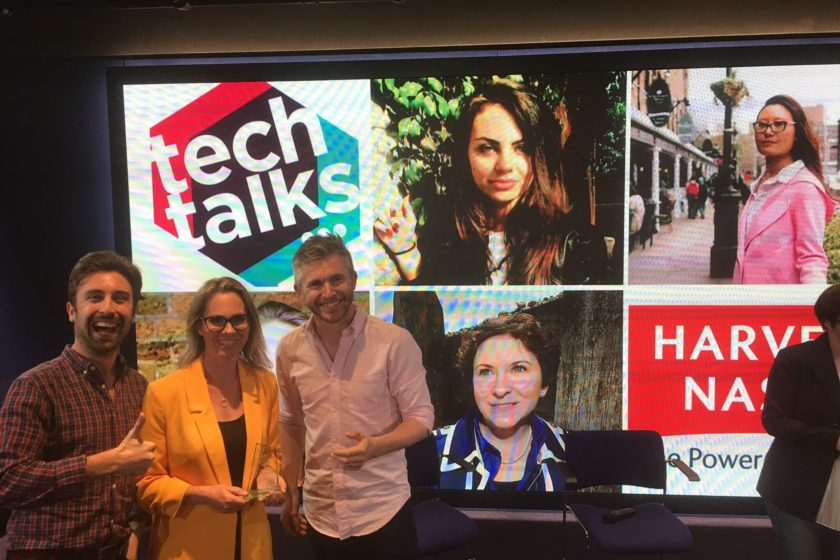 White City Place hosts the second Tech Talks Live in The Studio