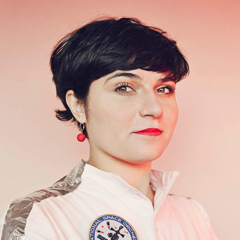 Designer Nelly Ben Hayoun and writer/curator Vicky Richardson Feature Image